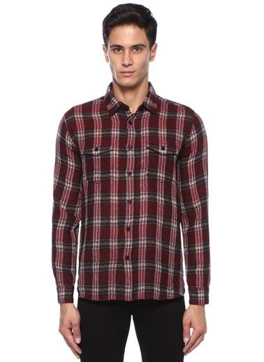 Saint Laurent Gömlek Kırmızı